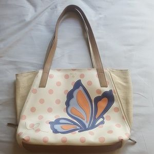 Relic butterfly tote bag
